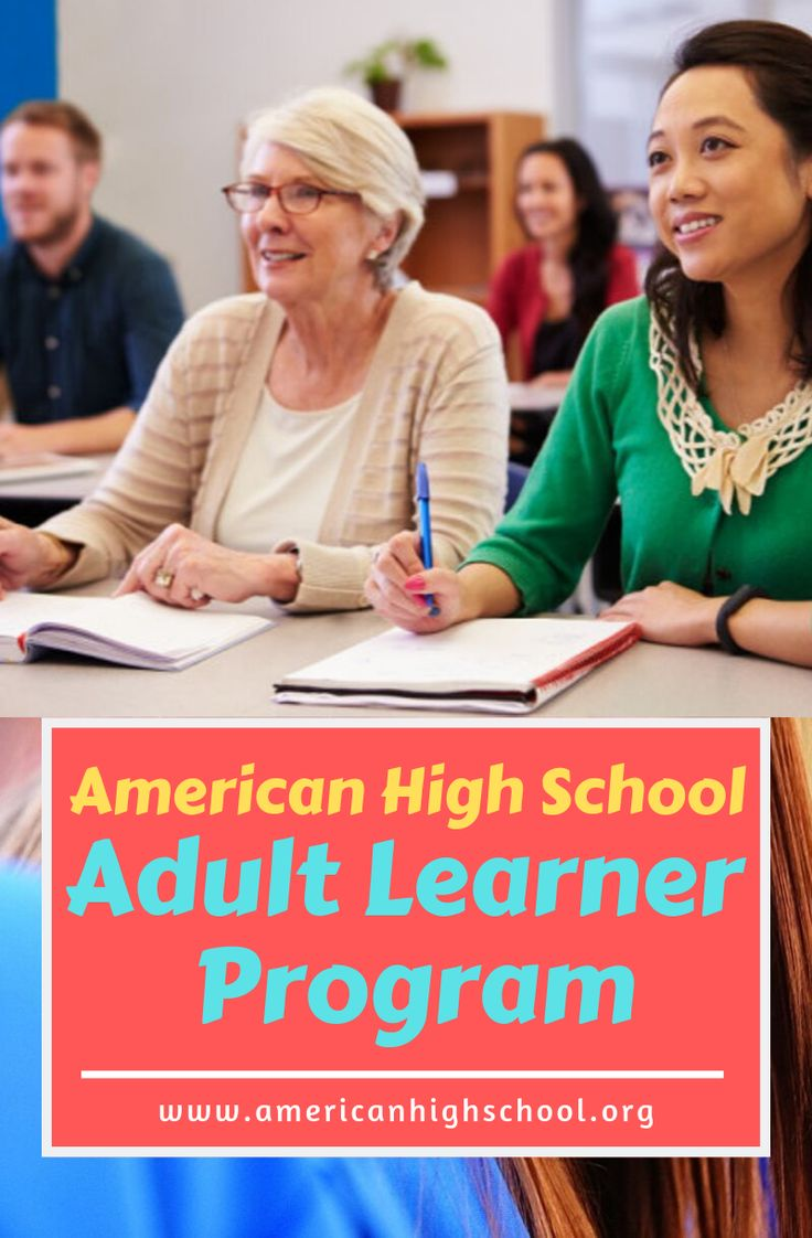 Adult learners program are a diverse group, with a wide