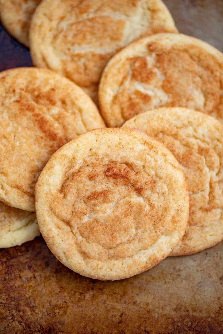 Easy Snickerdoodle Cookies mit der perfekten Zimtzuckerbeschichtung …