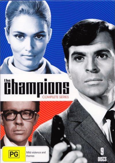 The Champions, starring Stuart Damon, Alexandra Bastedo, William Gaunt and Anthony Nicholls, 1968-69.