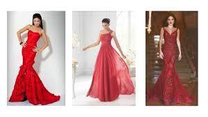 Resultado de imagen para red dress for women