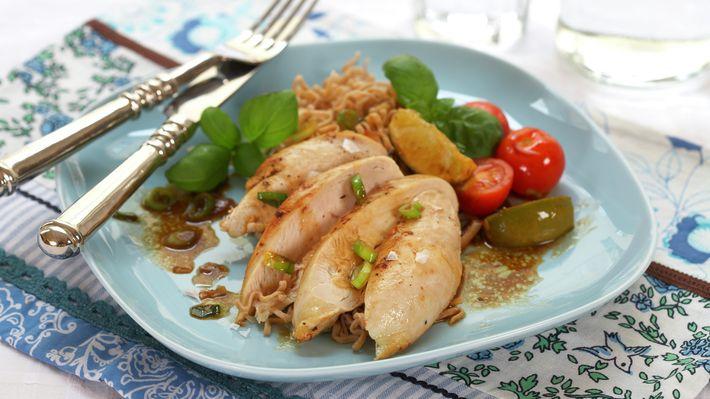 Kyllingfilet med tomat, vårløk og lime - Rask - Oppskrifter - MatPrat