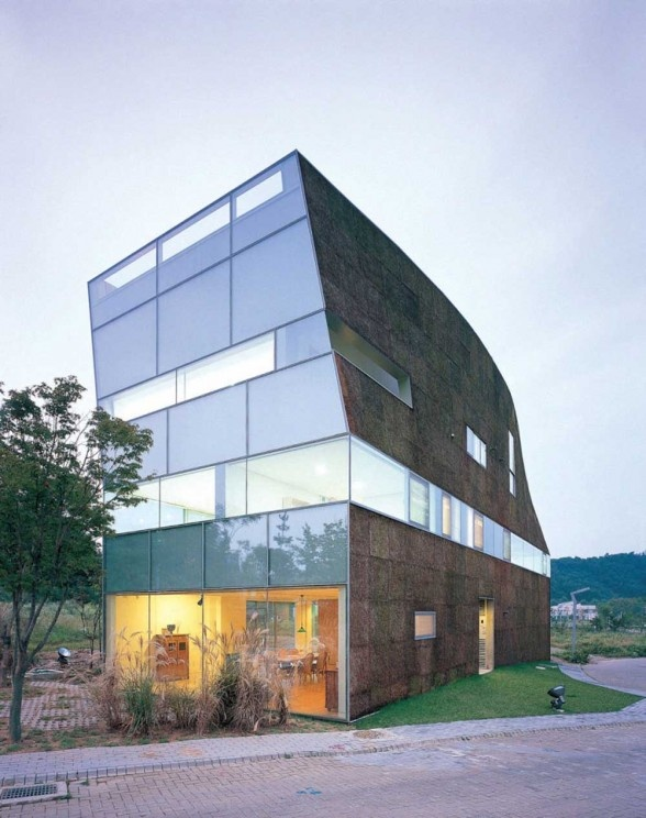 Torque House in Paju by Mass Studies