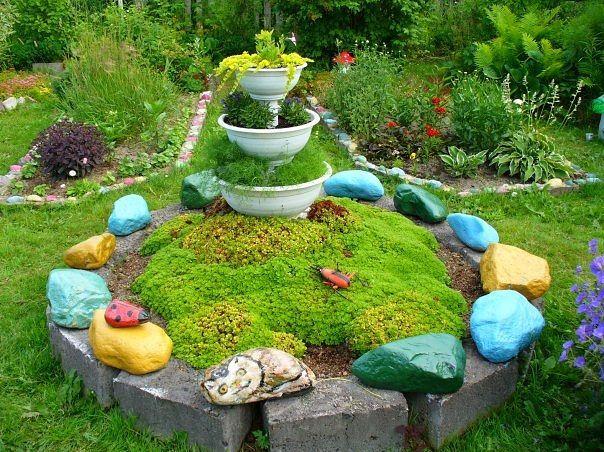 Сад — это место для многих рукотворных творений. Возможностей для творчества действительно множество: цветы, клумбы, овощные грядки, бассейны и фонтаны, ручьи и мостики, садовая мебель и светильники и т.д. А ещё можно своими руками сделать красочные и красивые декоративные камни для сада и огорода.Живопись на камнях, украшение камней — это занятие весёлое, коллективное, этим любят…
