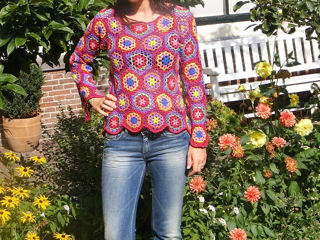 Ravelry: gehaakte damestrui pattern by Phildar Design Team