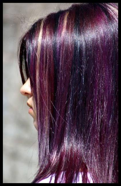 les 25 meilleures id es concernant cheveux brun violet sur pinterest coloration pour cheveux. Black Bedroom Furniture Sets. Home Design Ideas