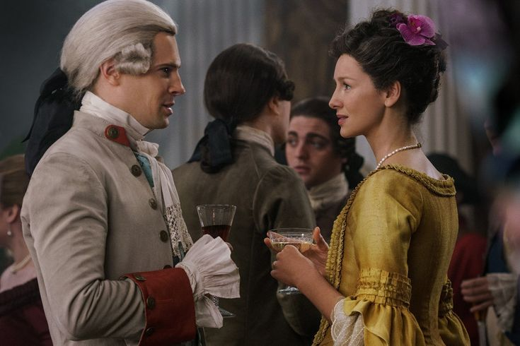 Here is a NEW Interview with David Berry from Entertainment Weekly From EW: Face it, Claire: You aren't the only one who's in love with the King of Men. In Sunday's episode of Outlander, Claire (Ca…