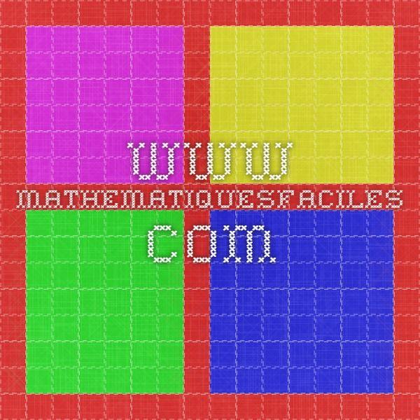 www.mathematiquesfaciles.com