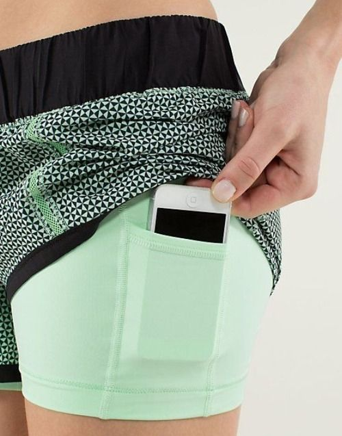 "unlimited-diabetic:   most people are thinking these are awesome shorts to workout with their cellphones, my first reaction is: ""oh! Insulin pump pocket!"""