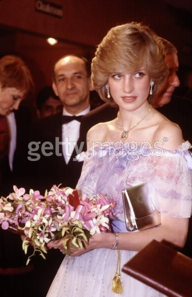 December 2, 1982: Prince Charles & Princess Diana at the movie premiere of the film 'Gandhi' in London.
