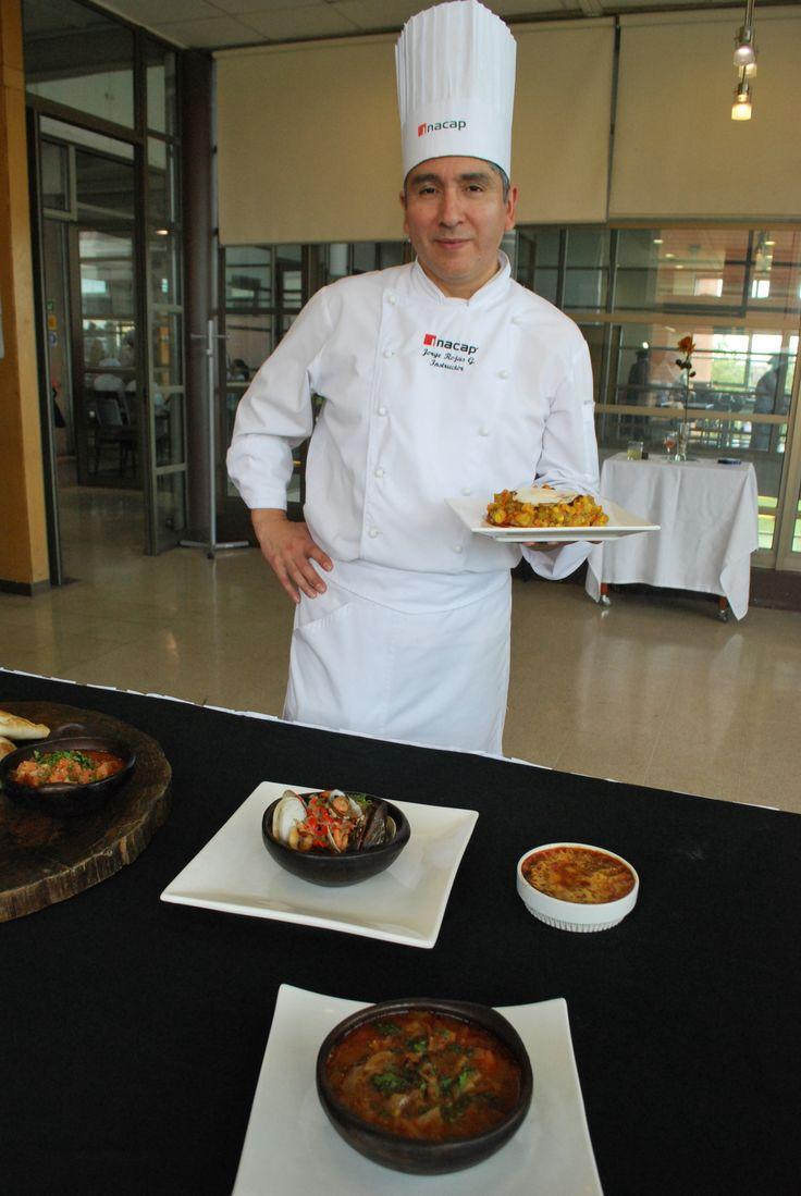 Jorge Rojas, chef instructor carrera gastronomía internacional