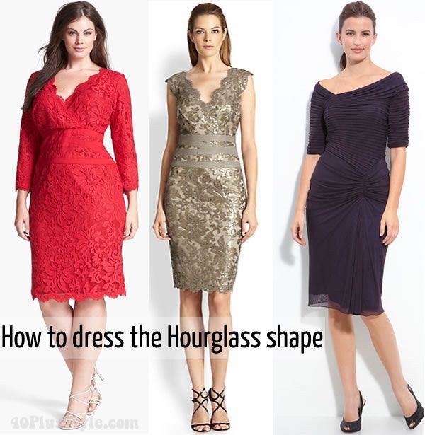 Dressing For Your Body Type How To Dress The Hourgl Shape Women Over 40 And Pinterest