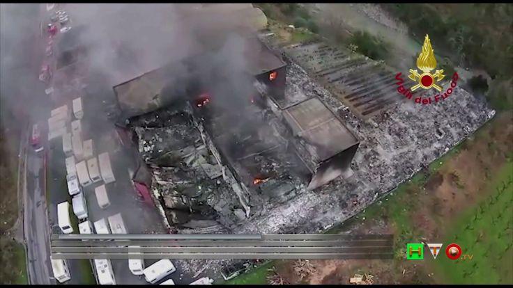 Vigili del Fuoco - Albenga, Loc. Ortovero - Intervento per incendio in u...
