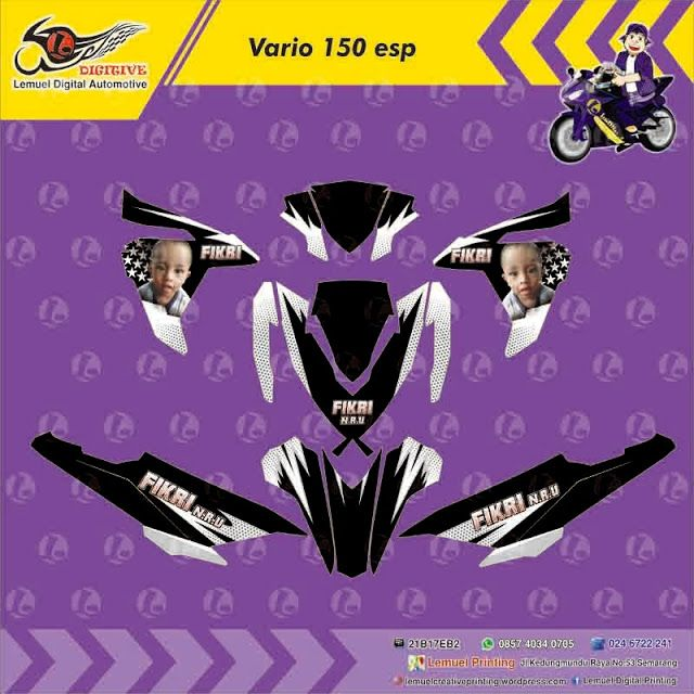 Custom Decal Vinyl Striping Motor Full Body Honda Vario 150 ESP 2015 Thema Foto Anak by DIGITIVE https://youtu.be/mwXNVLJQc8Q ‪#Blogging101‬ ‪#DecalVinylStripingMotorFullBody‬ ‪#DIGITIVE‬ ‪#KreatifitasLeMuel‬ ‪#LeMuel‬ ‪#ProdukProdukKreatifLeMuel‬ ‪#StripingMotorFullBody‬ ‪#StripingMotorHondaVario‬ ‪#StripingMotorMatic‬ ‪#StripingMotorSemarang‬