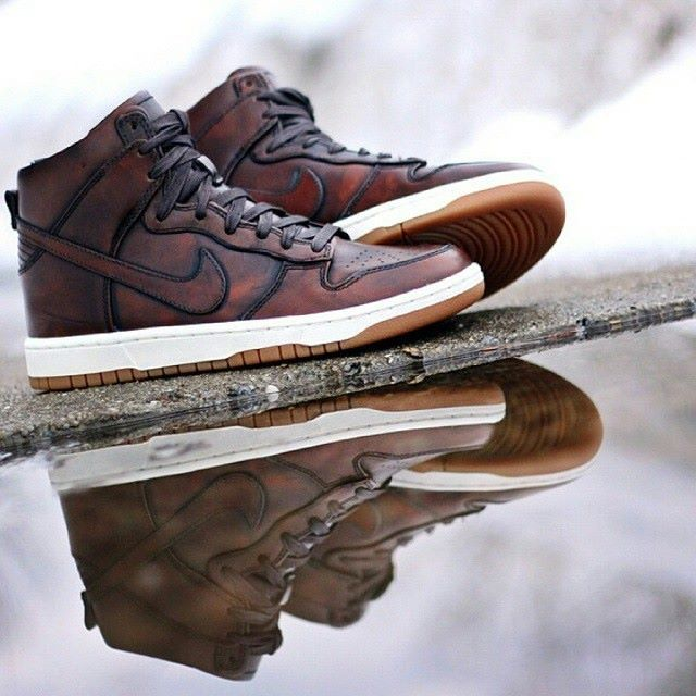 online retailer abf72 72d19 ... high sp burnished leather Nike Dunks, Mens Style, Air Jordans,  Anonymous, Sneaker, Menswear, Bronze Nike SB ...