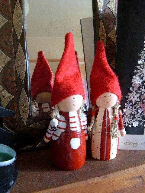 Danish Christmas elves