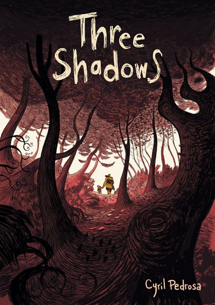 Louis flees with his son, hoping to outrun the shadows...The THREE SHADOWS. We had never seen something like this before, really! All about love, emotions, grief and care - read once and praise for a lifetime!