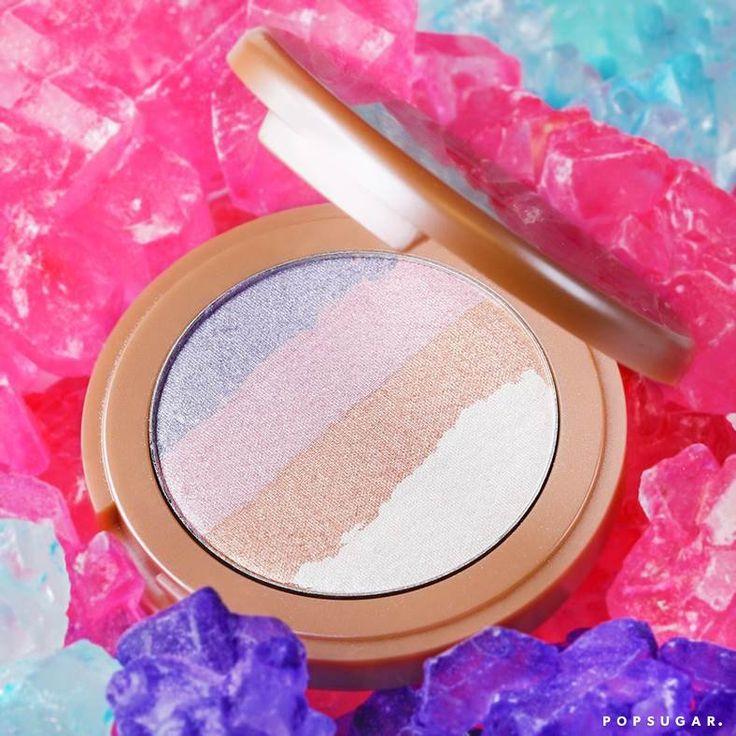 Tarte Make Believe in Yourself Collection   Summer 2017   Tarte Spellbound Glow Rainbow Highlighter   POPSUGAR Beauty