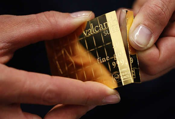 Amazing divisible gold bars in Switzerland!