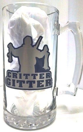 """Jodi's Accessories - """"Critter Gitter"""" Beer Mug, $10.00 (http://www.jodisaccessories.net/products/critter-gitter-beer-mug.html)"""