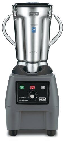 Variable Speed food blender with electronic keypad Ultra heavy-duty 3.75 HP commercial motor – perfect for large loads and long blending times Adjustable speeds from 1,700-18,000 RPM