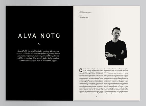Geiger Magazine Layout #layout #design #inspiration