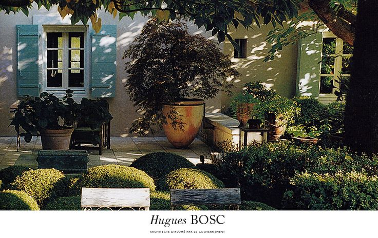 jardin de pierre berg saint r my de provence hugues bosc architecte michel semini. Black Bedroom Furniture Sets. Home Design Ideas