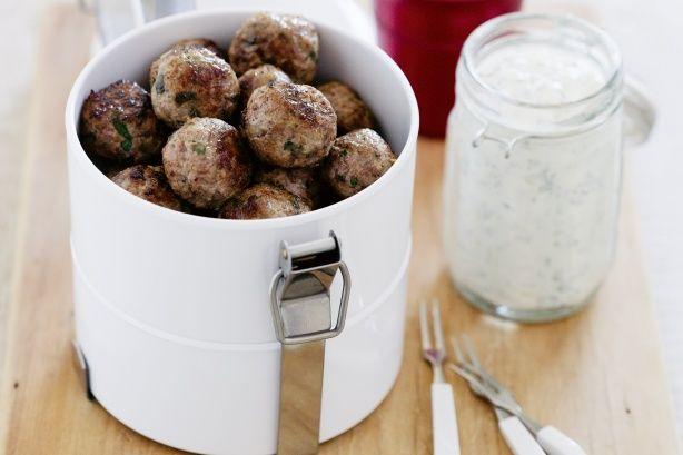 Lamb kofta with mint and garlic yoghurt main image