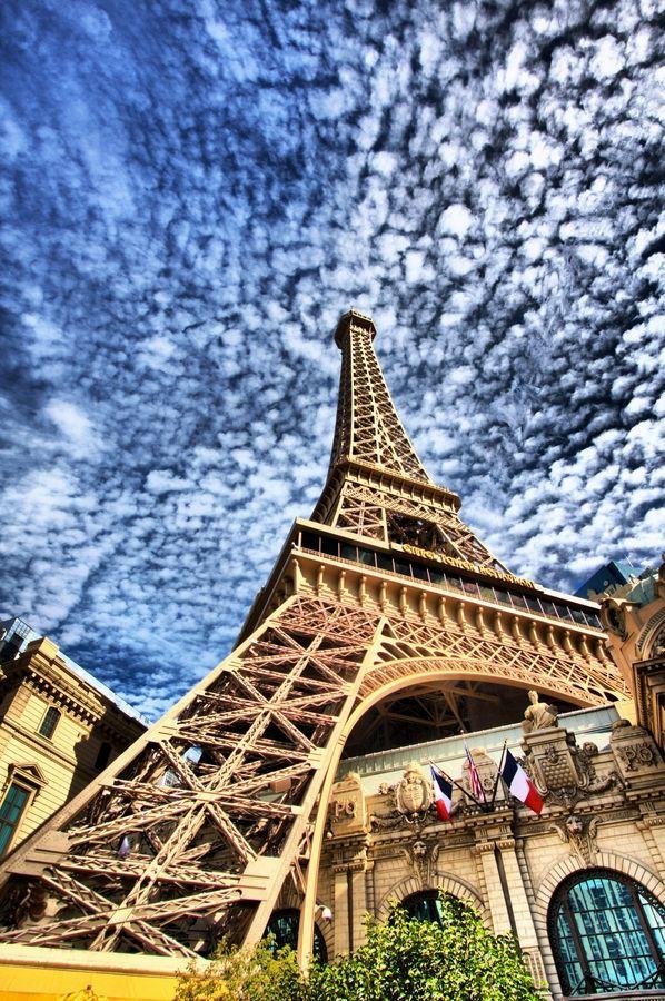 Eiffel Tower Imitation, Las Vegas