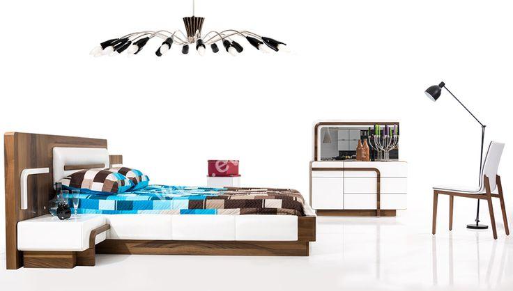 evgor.com.tr Yatak Odaları > Modern Yatak Odaları > http://www.evgor.com.tr/K161,yatak-odalari.htm > Hector Modern Yatak Odası #evgor #mobilya #yatak #odasi #bed #room