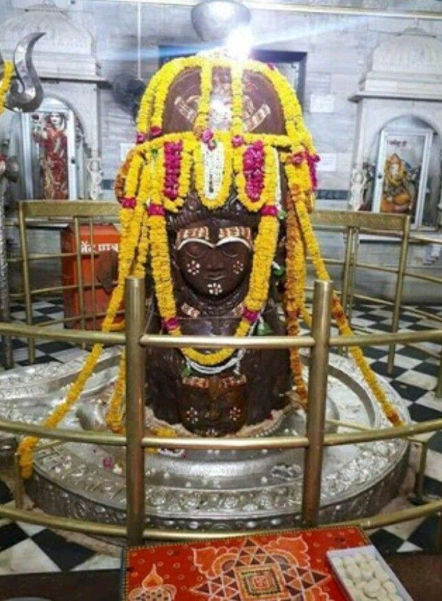 Shiva Linga inside Pashupatinath Temple