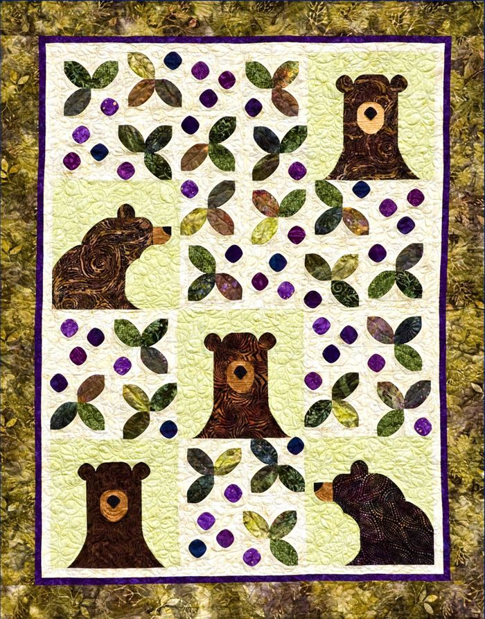 Bear Y Patches Quilt Pattern Swd 507 By Southwind Designs