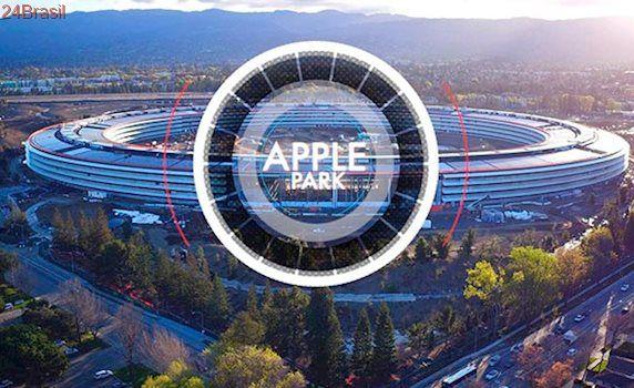 Apple Maps recebe versão 3D do campus Apple Park, nova sede da empresa