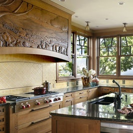 Vote for this beautiful kitchen design from holly rickert for Win a kitchen remodel