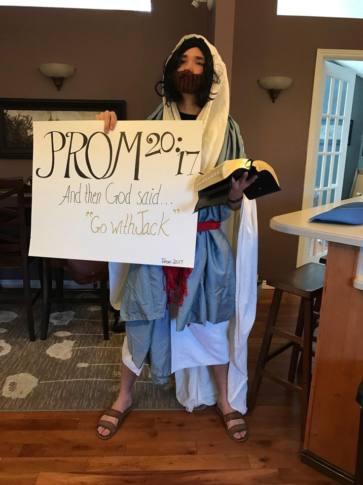 "I'm over ""promposals"" but my little brother's actually made me laugh   funny pictures"