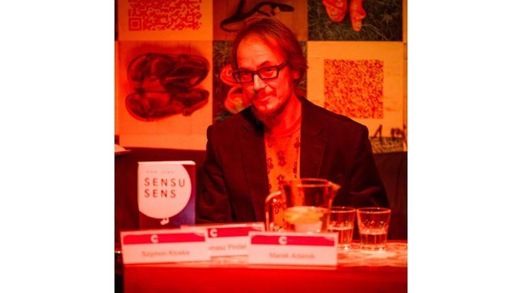 Conrad Festival 2016, Conrad by Night. Spotkanie z Markiem Adamikiem, nominowanym do Nagrody Conrada  fot. Wojciech Wandzel, www.wandzelphoto.com