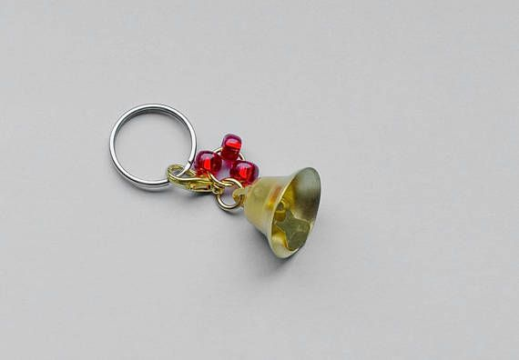 Christmas bell Bridle charm Horse pony tack Ornament Bridle