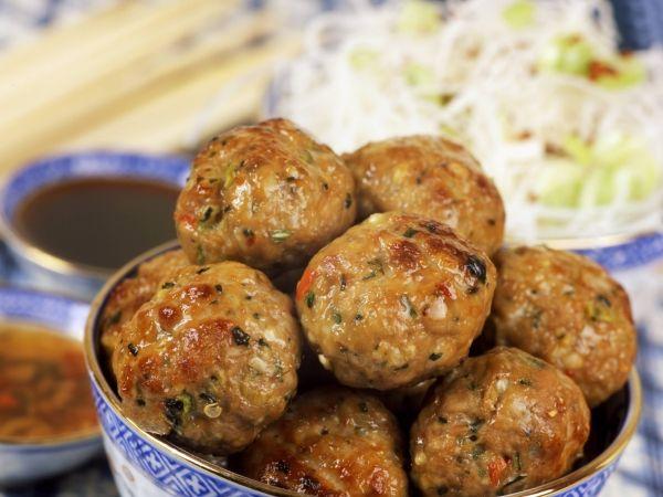 Boulettes de porc pimentées