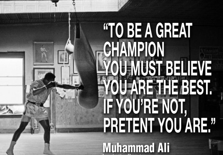 Muhammad Ali Quotes About Champions
