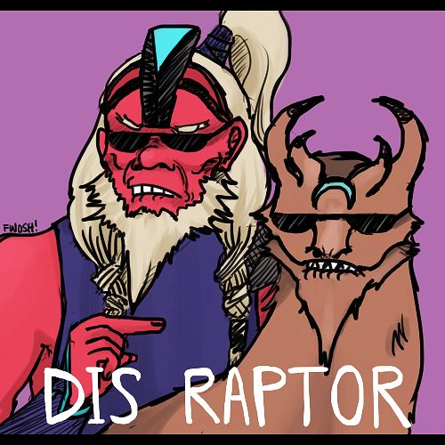 Dis raptor..spin on dat a**