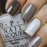 Изумительный серый маникюр (31 фото) - Дизайн ногтей