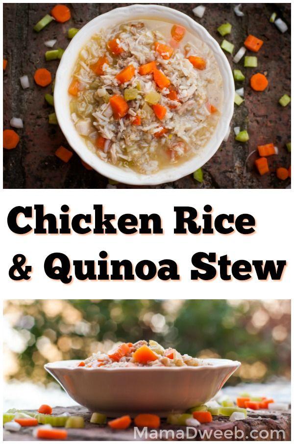 Chicken Rice and Quinoa Stew Recipe