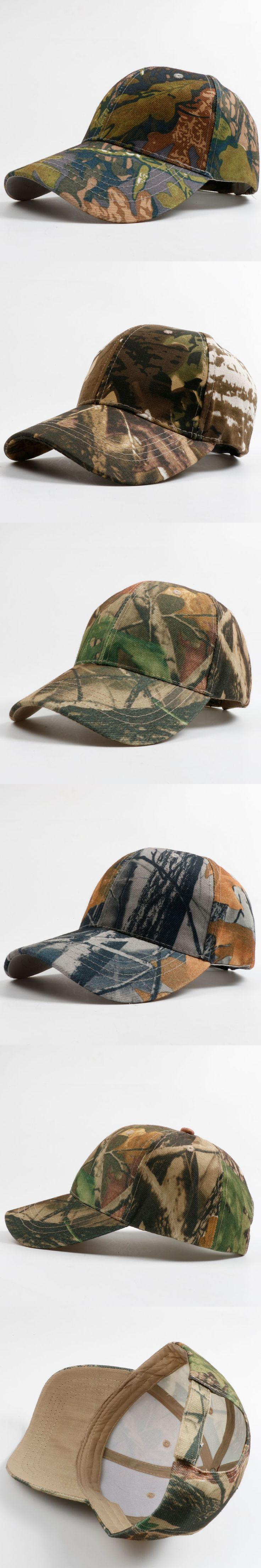 Baseball Cap Men Tactical Cap Hunting Camouflage Snapback Hat Gorras Camo Baseball Cap Adjustable Fishier Snapbacks Hat
