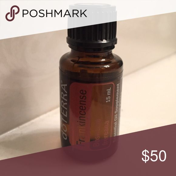 doTerra Frankincense Essential Oil 15ml doTerra frankincense essential oil 15ml bottle with approximate 14ml remaining. You can see fill line in photo. doTerra Makeup