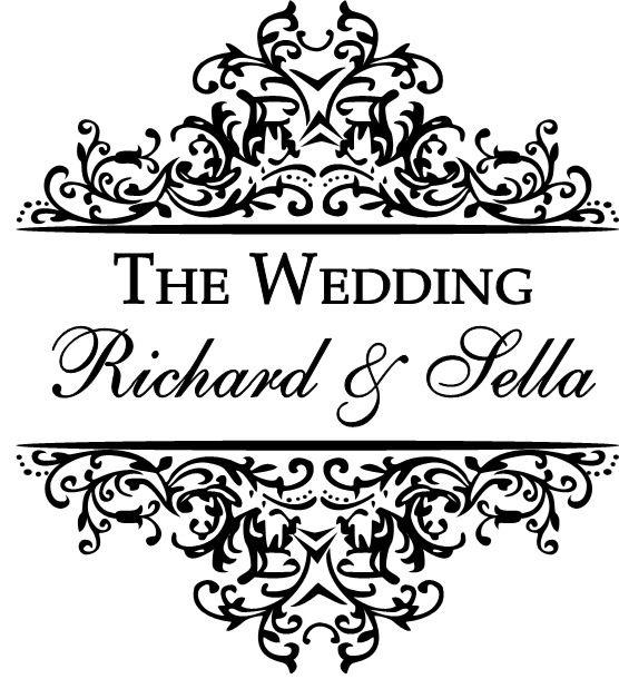 Our wedding logo