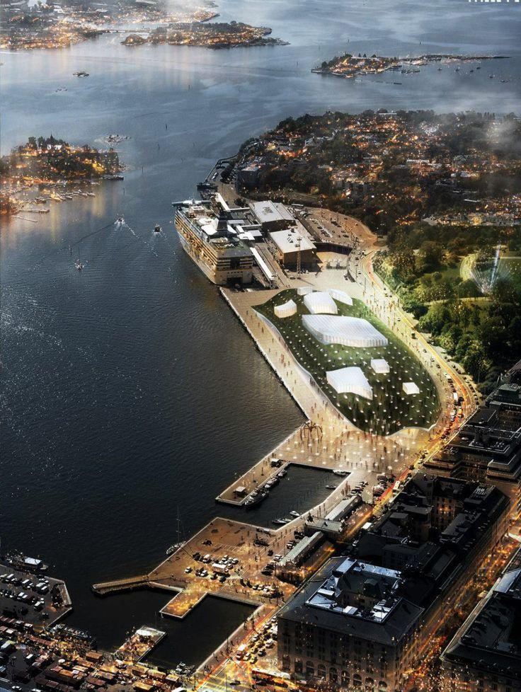 Guggenheim Helsinki visualization / DAAKO studio