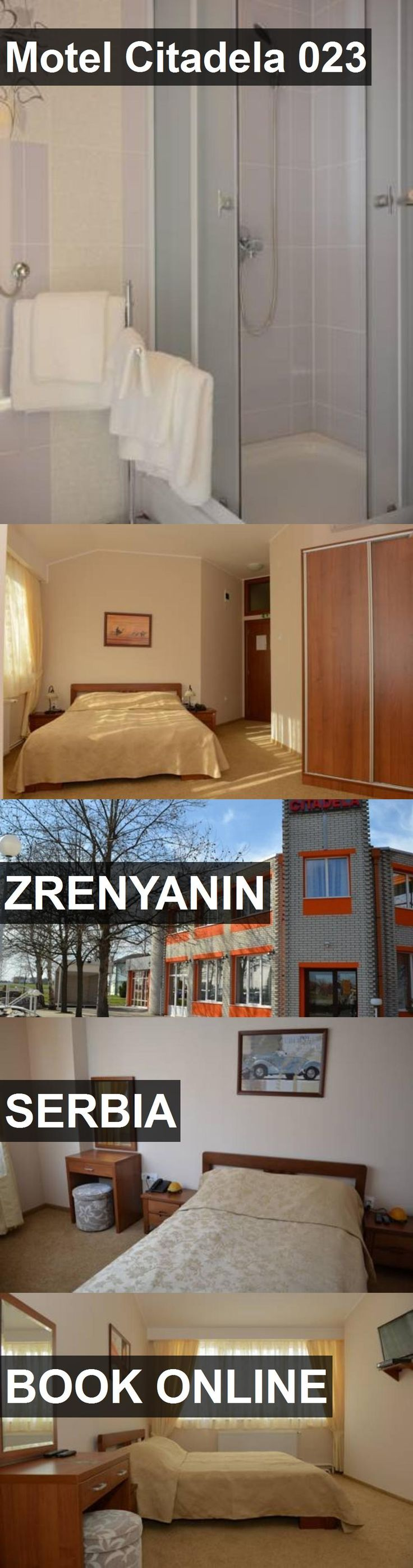 Hotel Motel Citadela 023 in Zrenyanin, Serbia. For more information, photos, reviews and best prices please follow the link. #Serbia #Zrenyanin #MotelCitadela023 #hotel #travel #vacation