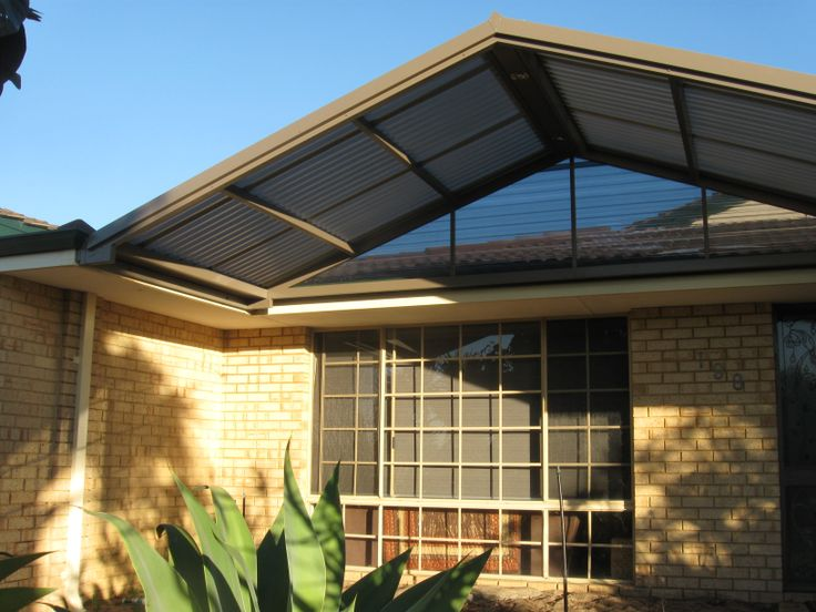 A front of house portico, an excellent way to finish off the front of your house. Looks Awesome