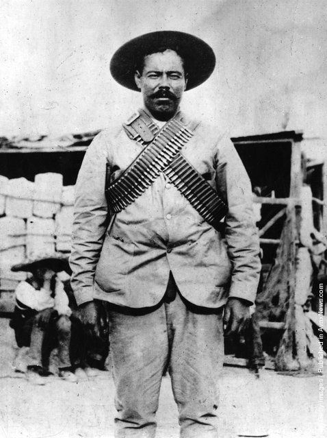 General Francisco Villa, born Doroteo Arango, also known as Pancho Villa hero of the Mexican Revolution