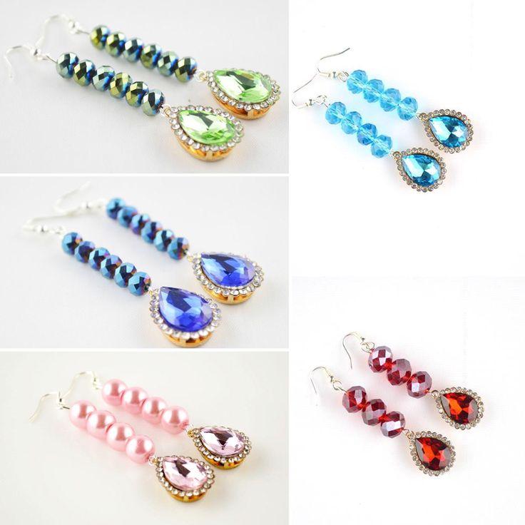 Rhinestone handmade jewellery!