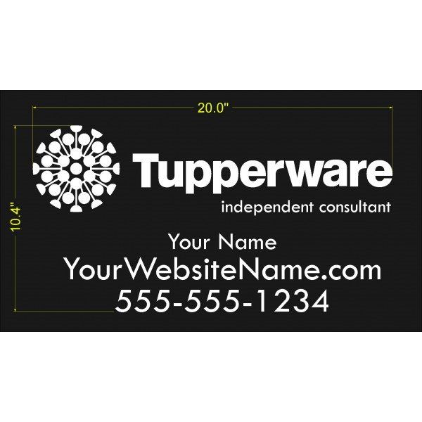 Tupperware Business Vinyl Car Decal - CA$30.00 #onselz